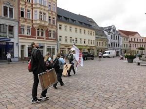 Einmarsch in Döbeln-Riesa-Zittau-Hoyerswerda-Meißen