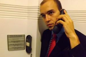Tag der offenen Tür, und der Ministerpräsident geht nicht mal ans Telefon