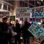 PARTEI-Genossen aus Karl-Marx Stadt unterstützen die Leipziger PARTEI-Genossen